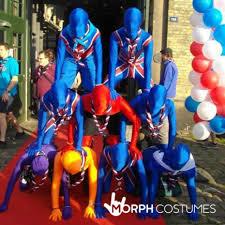 union jack halloween costume union jack morphsuit morph costumes uk