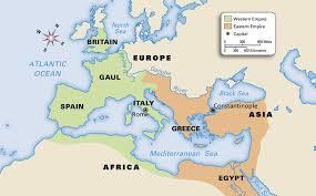 rome on a map 5 history dividing the empire cc cycle 1