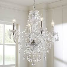 Shaded Crystal Chandelier Ice Palace 4 Light Crystal Chandelier U0026 Reviews Birch Lane