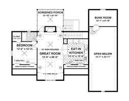 craftsman style house plan 1 beds 2 50 baths 1058 sq ft plan 56 626