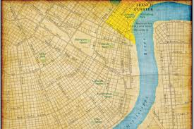 Street Map Of New Orleans by Geoatlas City Maps New Orleans Map City Illustrator Fully