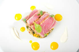 modern cuisine tuna picture of white modern cuisine noord tripadvisor