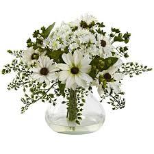 Flower Arrangements In Vases Faux Flowers U0026 Plants Bellacor Com