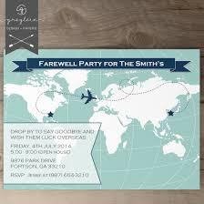 Farewell Invitation Cards Going Away Party Invitation U2013 Gangcraft Net