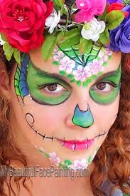 97 best sugar skull and creepy face painting images on pinterest