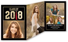 tri fold graduation announcements fantastic tassel collage 5x7 tri fold stationery card by