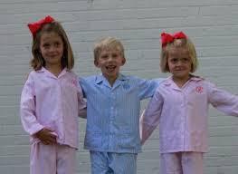 the pink giraffe new monogrammed pajamas for children
