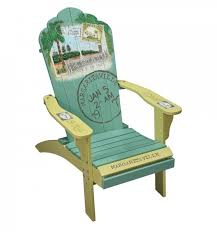 Painted Chairs Images Plain Adirondack Chairs On Beach Painting Wall Art Hand Painted