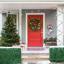 Exterior Christmas Decorations Best 25 Traditional Outdoor Holiday Decorations Ideas On