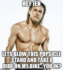 Meme Generator Custom - charlie hunnam birthday meme generator imgflip jen pinterest