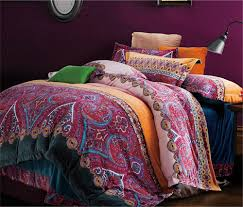 amazon com auvoau home textile boho style bedding set bohemian