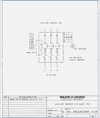stunning easy set up shunt trip circuit breaker wiring diagram