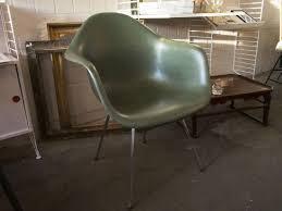 Eames Fiberglass Rocking Chair Vintage Green Fiberglass Chair By Charles U0026 Ray Eames For Vitra
