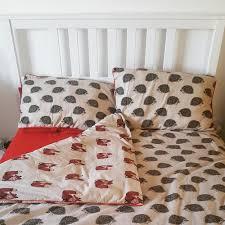 Asda Duvet George Home Brushed Cotton Hedgehogs And Foxes Duvet Set Read