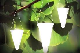 solar hanging light garden with how to make magical colored lights