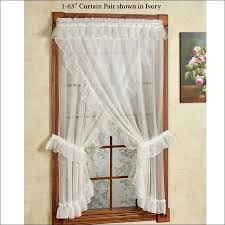 Ruffle Shower Curtain Uk - living room fabulous domestications curtains ruffled lace