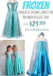 Halloween Elsa Costume Frozen Costumes Family