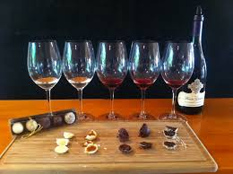 wine chocolate wine and chocolate truffle pairing at the four graces oregon wine