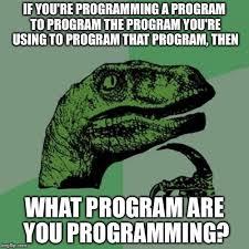 Meme Maker Program - philosoraptor meme imgflip