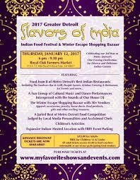 flavors of india food festival winter escape shopping bazaar