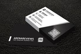 20 free black and white business card templates designyep