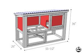diy rabbit hutch plans free u0026 easy rogue engineer