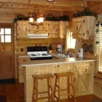 Rustic Cabin Kitchen Ideas by Wonderful Rustic Cabin Kitchens Decoration Fascinating Home