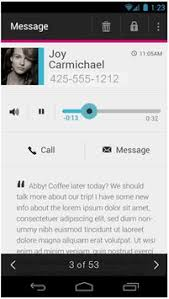 visual voicemail for android t mobile visual voicemail apk free tools app for