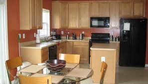 kitchen furniture best paint colors for kitchen with honey oak