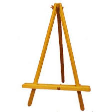 table top easel hobby lobby buy or make tabletop easels this beechwood table easel is great for