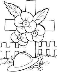 coloring pages remembrance day remembrance day poppies and soldier helmet coloring pages coloring sun