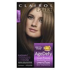light ash brown hair color amazon com clairol age defy expert collection 6a light ash brown