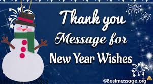thank you reply messages for new year wishes 2017
