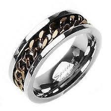 titanium colored rings images Titanium ring ebay JPG