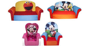 Minnie Mouse Flip Sofa by Amazon Children U0027s Upholstered 2 In 1 Flip Open Sofa And Chairs As