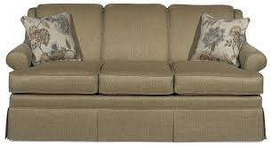 traditional sofas with skirts traditional sleeper sofa craftmaster 9205 traditional sleeper sofa