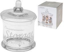 Bathroom Jars With Lids Glass Bathroom Jar Ebay