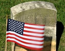 Baltimore County Flag Placing Flages At Prospect Hill Cemetery Baltimore Sun