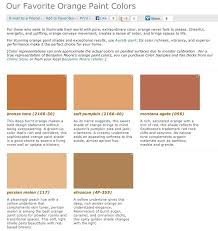 20 great shades of orange wall paint and coral apricot lovely