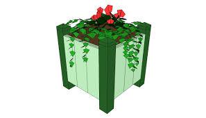 planter with trellis plans myoutdoorplans free woodworking