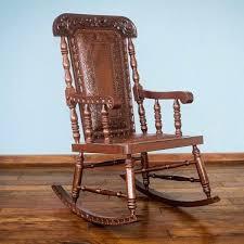 homcom pu leather rocking sofa chair recliner leather rocking chair handmade cedar and leather rocking chair