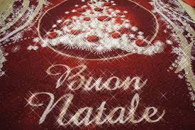 tappeti natalizi mq 25 di passatoia tappeto natalizio luccicante glitterato