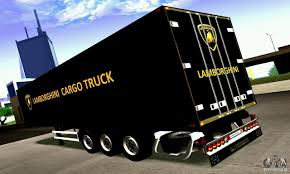 lamborghini truck lamborghini cargo truck for gta san andreas