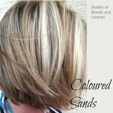 coloured sands blondes with dark lowlights hair colors