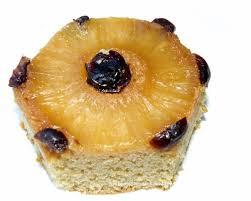 ambrosia whole wheat and eggless pineapple upside down cake