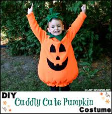 sew can do make a cuddly cute pumpkin costume without a pattern