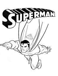 Superman Coloring Pages Printable Coloringstar Superman Coloring Pages Print
