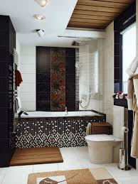 bathroom 2017 laminated wooden floor wooden wall dividers square