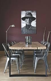 Chaise Industrielle Métal Noir Antique Déco Industrielle Les 25 Meilleures Idées De La Catégorie Table Metal Sur