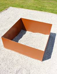 square fire pits designs modern diy welded fire pit our fire pit makeover dans le lakehouse